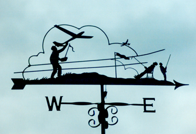 Radio Controlled Planes weather vane